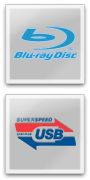 Blu-ray and USB 3.0